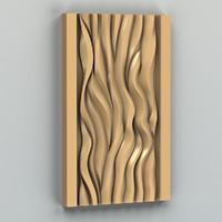 3d decorative wall panel model