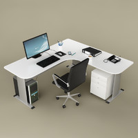 3d fbx office desk 02