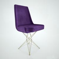 3d model arketipo athena chair