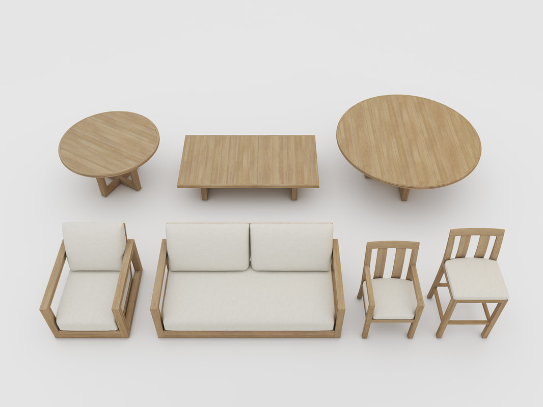Max costa outdoor furniture for Outdoor furniture 3d max