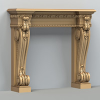 fireplace 001 3d max