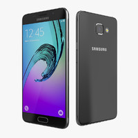 flagship samsung galaxy a5 3d model