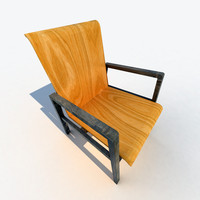 3d model chairs alvar aalto