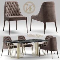table chair vittoria 3d model