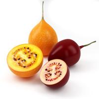 tamarillo fruit 3d 3ds