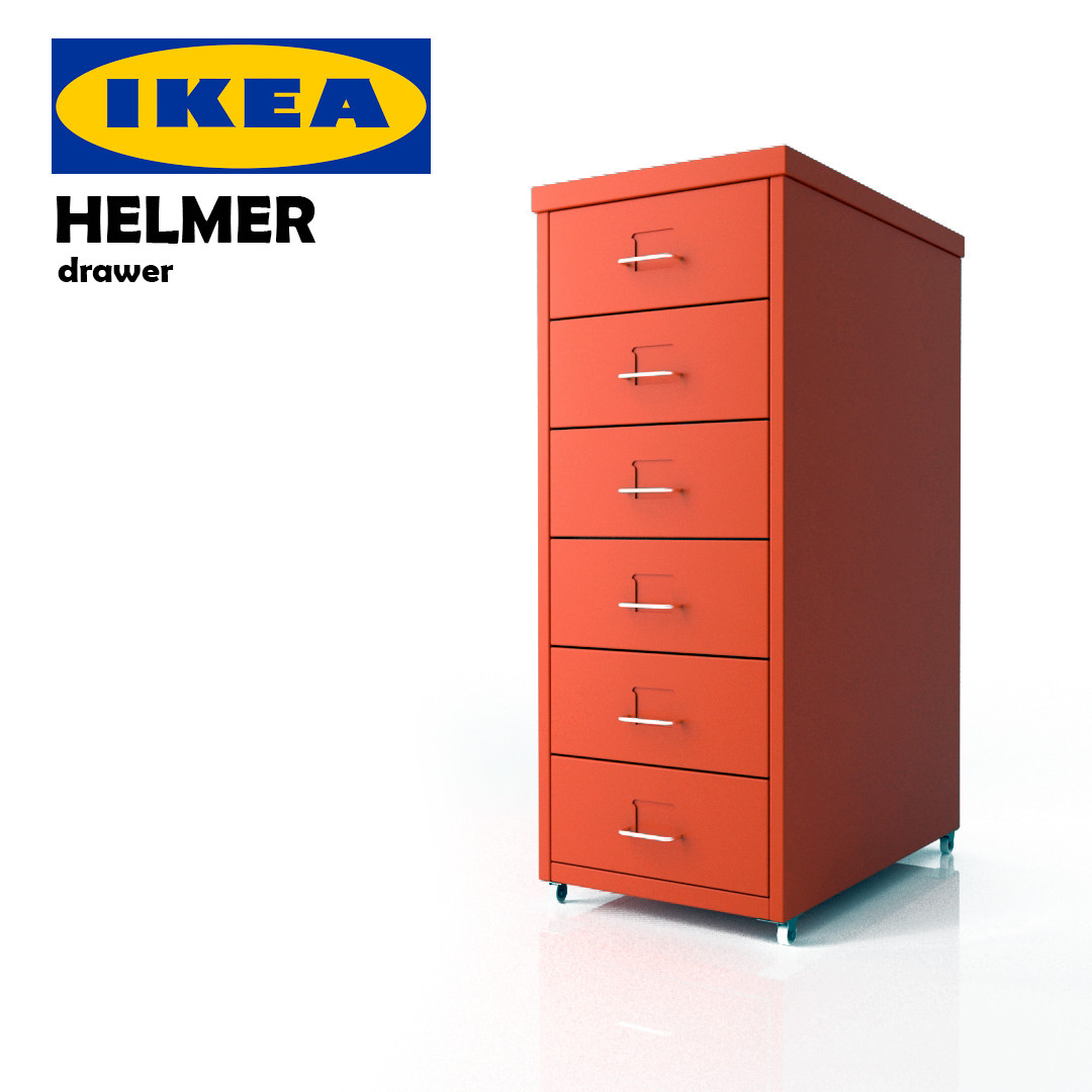 Ikea Cabinets Yes Or No: 3d Ikea Helmer Drawer