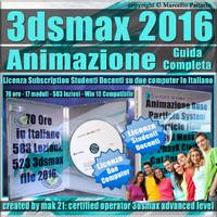 Corso 3ds max 2016 Animazione Guida Completa Studenti Docenti
