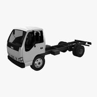isuzu nqr 75 truck 3d max