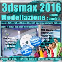 Corso 3ds max 2016 Modellazione Guida Completa Studenti Docenti