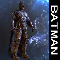 batman man bat 3d model