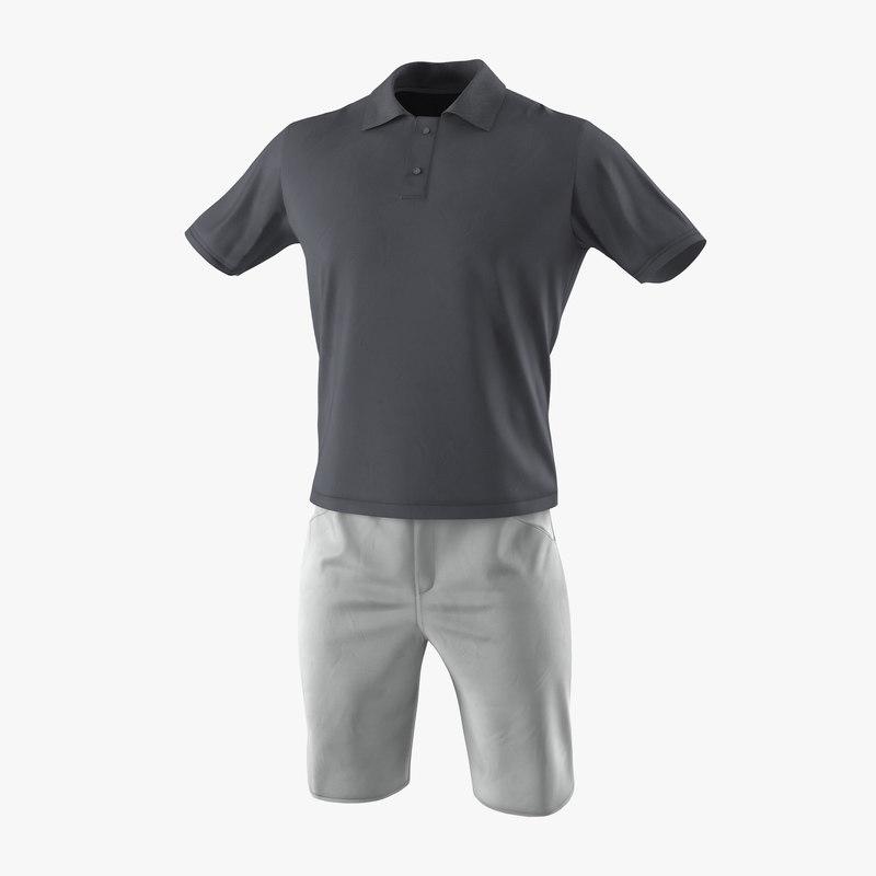 Mens Casual Clothes 3d model 01.jpg