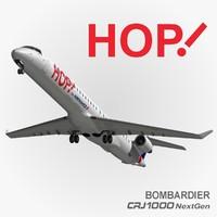 3d hop air france model