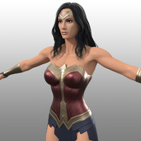 Wonder Woman Costume (Movie Inspired)