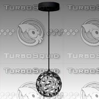 3d model chandelier studio