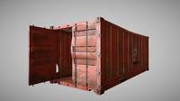 obj cargo container