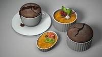 obj ramekin desserts