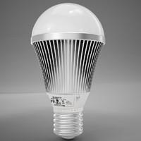 3d model led light bulb