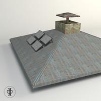 free roof 3d model