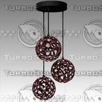 chandelier studio 3 3d max
