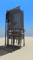 3d model tph boiler