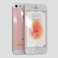 apple iphone se rose 3ds