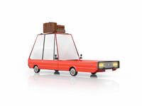 free max mode cartoon car