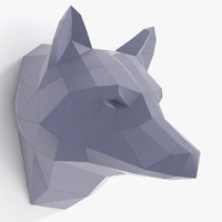 paper wolf 3d max