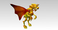 dragon fantasy 3d obj