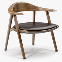 mantis lounge chair bassamfellows 3ds