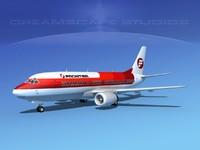 3d model of boeing 737 737-300 1