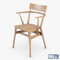 3d ercol holland park chair model