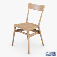 ercol holland park chair 3d model