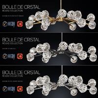 corona boule cristal 48 3d model