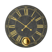 large wall clock 3d max