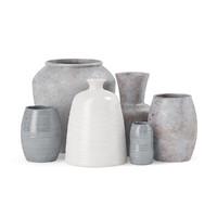 3d model ceramic vases