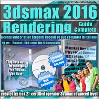 Corso 3ds max 2016 Rendering Guida Completa Studenti Docenti