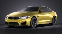 coupe 2015 bmw 3d model