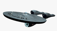 3d model enterprise ncc-1701