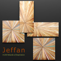 jeffan vintage square wall obj