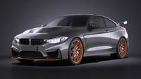 3d model 2016 gts bmw