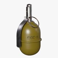 grenade rgd-5 5 obj