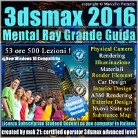 Corso 3ds max 2016 Mental Ray Grande Guida Studenti Docenti