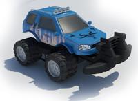3d model 4x4 super