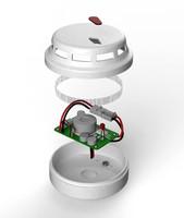 smoke detector 3d obj