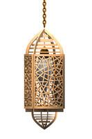 islamic lamp 3d model