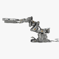 3d model of robot arm