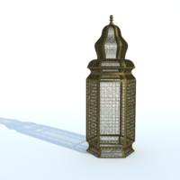 3d moroccan brass floor lamps