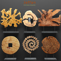 jeffan art wood decor 3d max