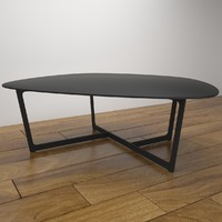 insula table 3d model