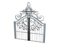 cemetery gate 3d model